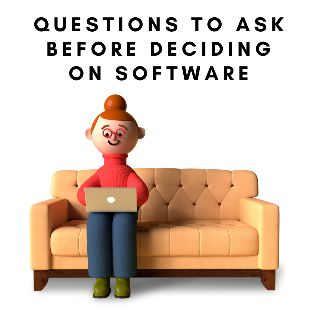 Questions to ask before deciding on accounting software