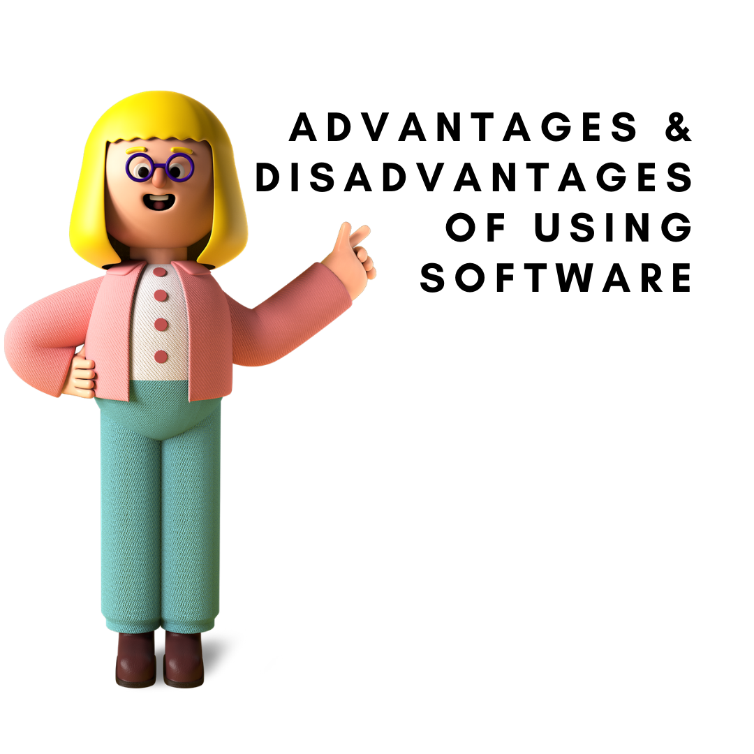 advantages and disadvanteges of using accounting software