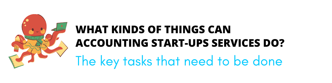 what kinds of things can accounting start ups services do