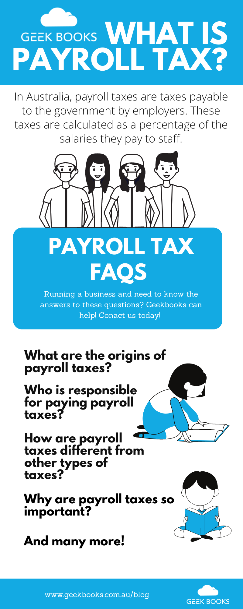 What is payroll tax infographic
